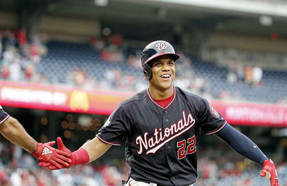 Washington Nationals' Juan Soto  (CP)