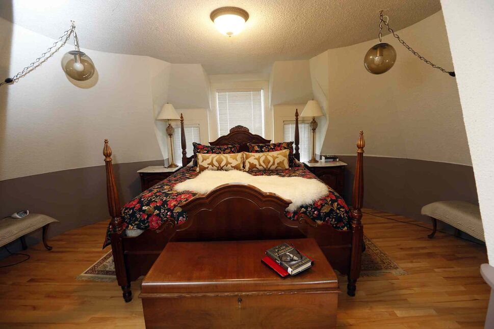 The third floor is home to the master bedroom. (KEN GIGLIOTTI / WINNIPEG FREE PRESS)