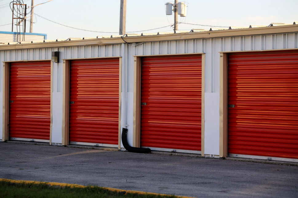 U-Haul self storage lockers at Elgin Avenue and McPhillips Street, where, human remains were discovered inside a delinquent unit in 2014.  (TREVOR HAGAN / WINNIPEG FREE PRESS FILES)