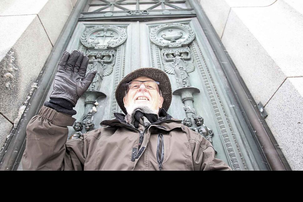 David McDowell led the charge to protect the city's historic architectural landscape. (Joe Bryksa / Free Press files)