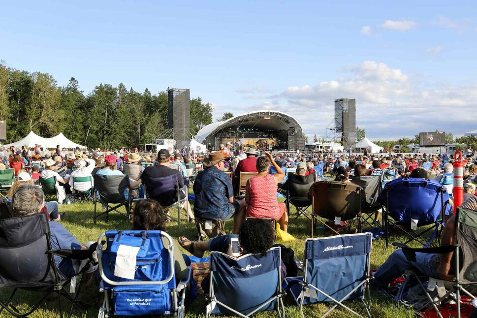 Summer -- and the folk festival -- are just around the corner, right?  RIGHT??  (Justin Samanski-Langille / Winnipeg Free Press) (Justin Samanski-Langille / Winni)