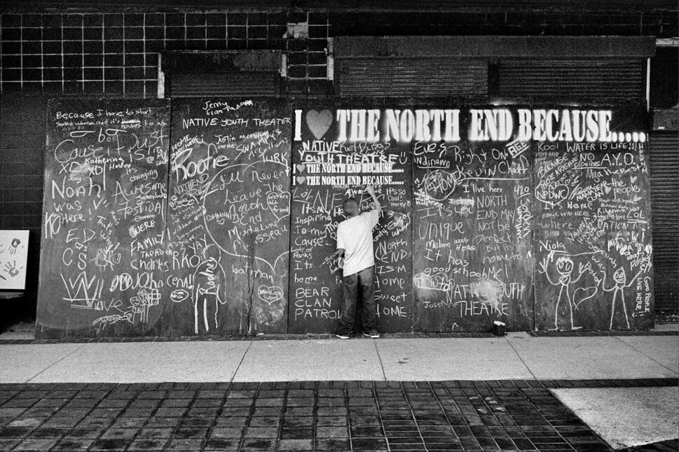 Image from the book <I>The North End Revisited: Photographs by John Paskievich</I>