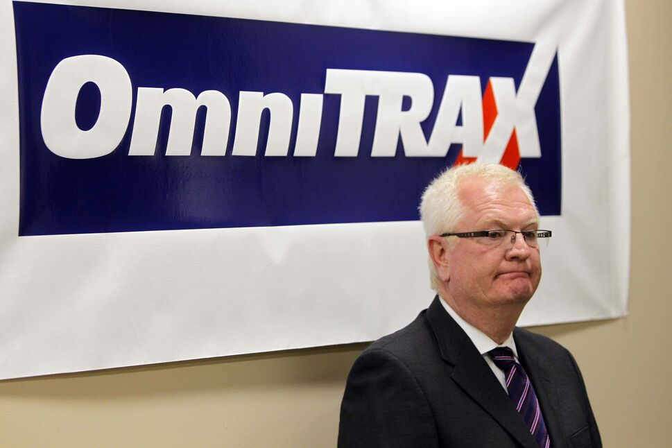 BORIS MINKEVICH / WINNIPEG FREE PRESS FILES</p><p>OmniTrax Canada president Merv Tweed says talks with the province about the railroad and port had stalled before the election.