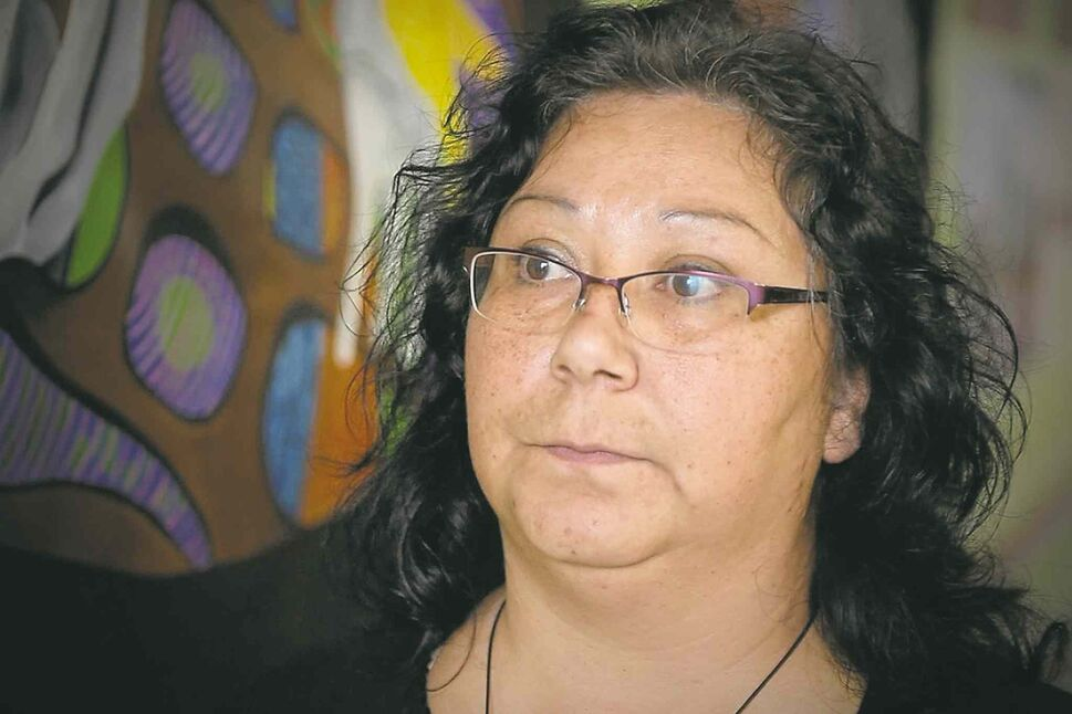 Sylvia Boudreau of the Indigenous Rock The Vote committee. (Winnipeg Free Press)