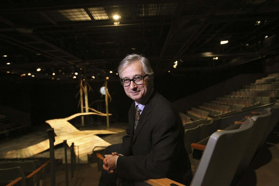 PTE artistic director Robert Metcalfe has announced his retirement as of the end of this season. (RUTH BONNEVILLE / WINNIPEG FREE PRESS)