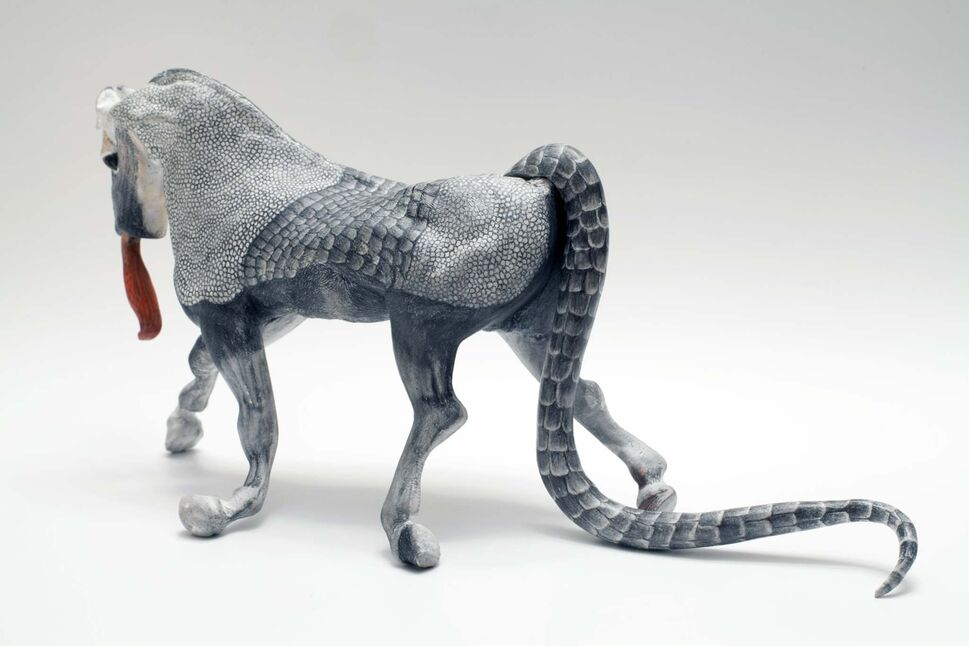 COURTESY DIANA THORNEYCROFT</p><p>Armadillo Horse</p>