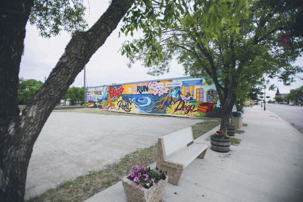 The Wall-to-Wall Mural and Culture Festival's inaugural Rural Mural Tour made stops over the past two months in Boissevain and Brandon.</p>