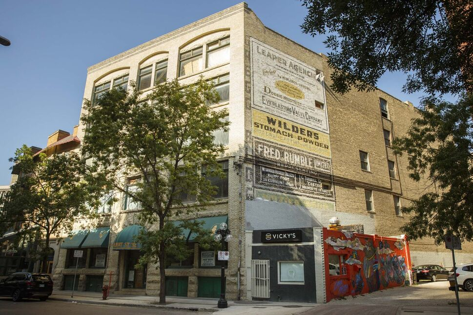 The new owner of the Gregg Building has the full support of Heritage Winnipeg.  (mike deal / winnipeg free press)