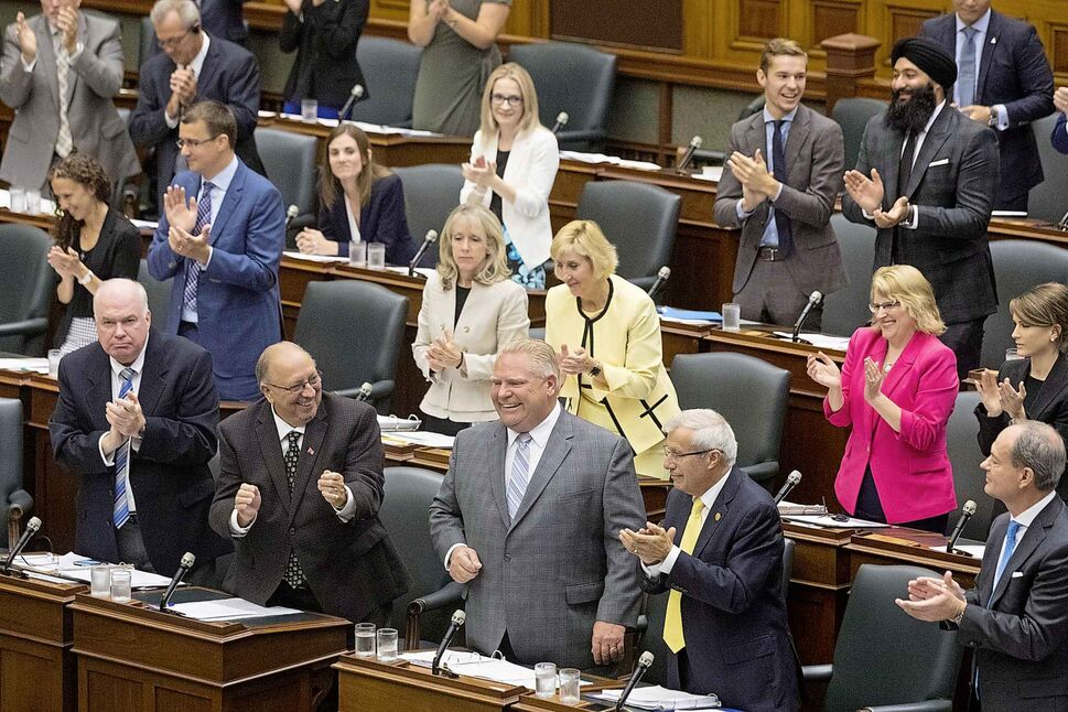The clock is ticking down to legalization, but the new government of Ontario Premier Doug Ford hasn't released any new details about its plan to privatize cannabis sales. (The Canadian Press/Chris Young)