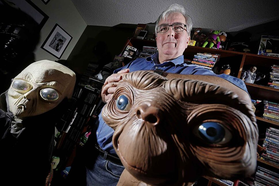 Chris Rutkowski, Canada's foremost UFO expert. (JOHN WOODS / THE CANADIAN PRESS FILES)
