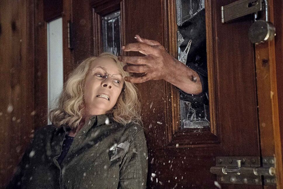 Jamie Lee Curtis in a scene from