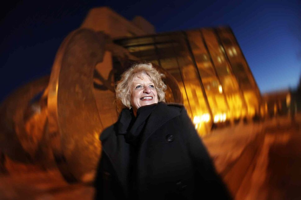 Wilma Derksen, whose daughter Candace was murdered in 1984, is photographed in downtown Winnipeg Tuesday, March 12, 2013. Derksen is planning to create a hospice for victims of crime called Candice House. (John Woods / Winnipeg Free Press)