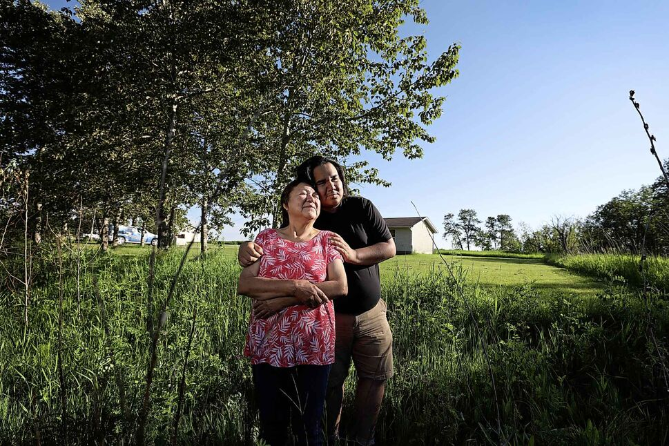 RUTH BONNEVILLE / WINNIPEG FREE PRESS</p><p>June 18 — Colton Kent with his grandmother, Margaret Bruyere, who raised him. Twenty high school students from Sagkeeng Anicinabe High School candidly share their hopes and dreams for the future despite the daunting challenges they face living on the reserve.</p>