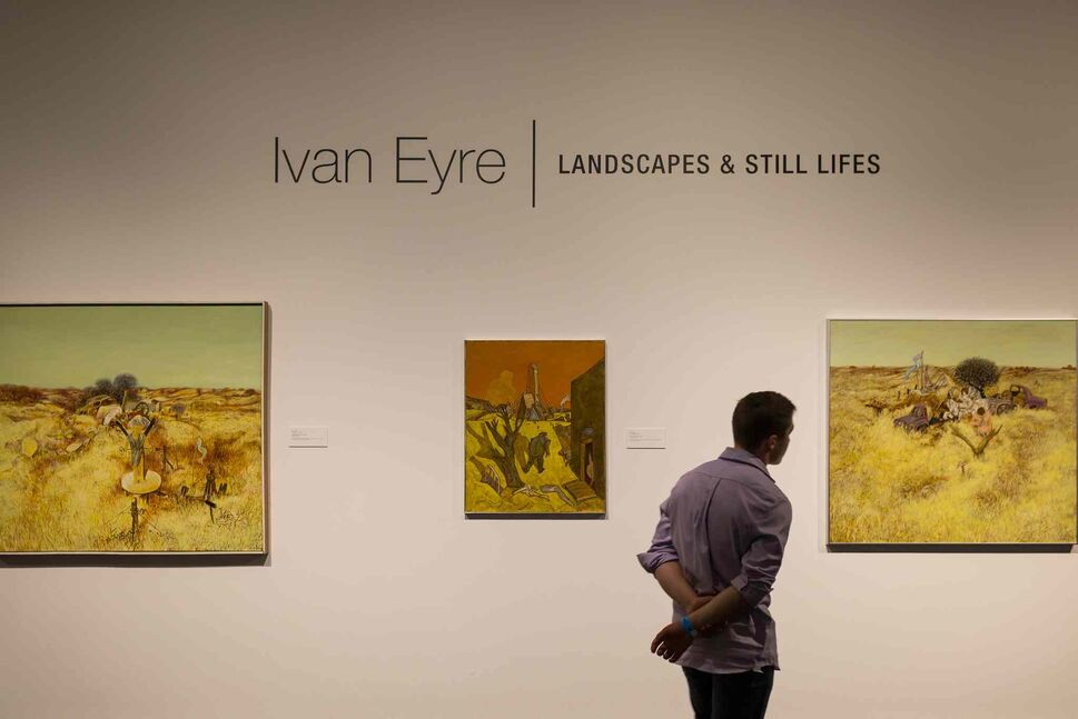 Ivan Eyre's Landscapes and Still Lifes at the Winnipeg Art Gallery during Nuit Blanche.
