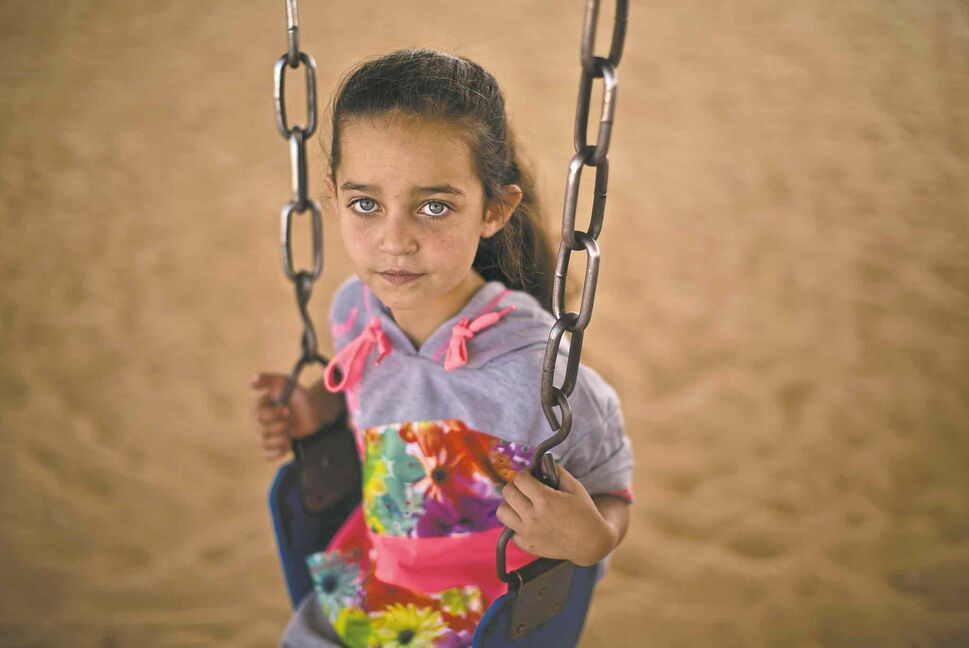 A Syrian refugee in a Jordanian camp. (CP)