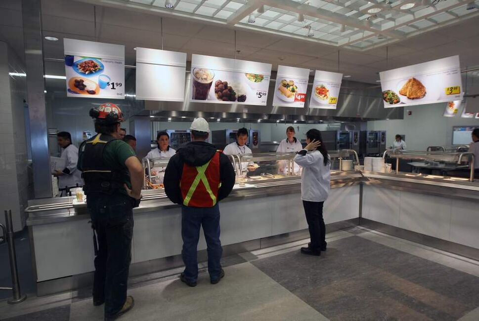 Ikea Restaurant and cafe.