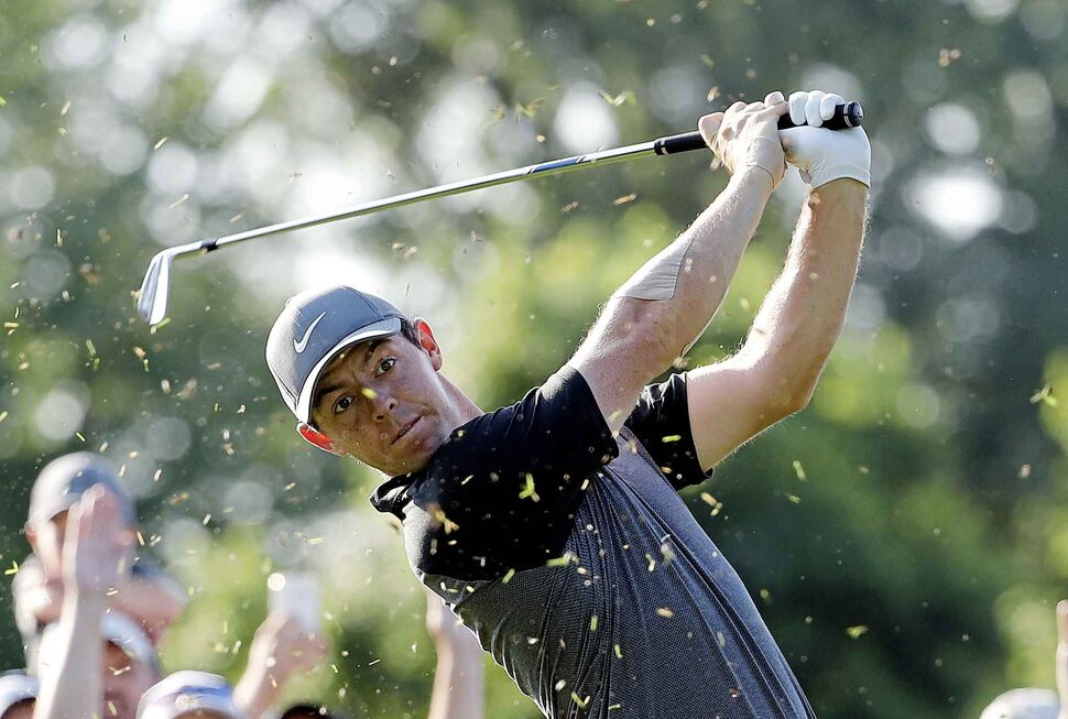 Rory McIlroy should be in the running to win the PGA Championship at Bellerive Country Club. (CP)