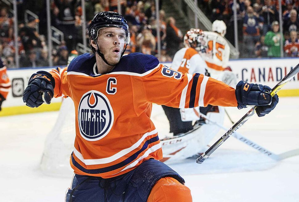 Edmonton Oilers' Connor McDavid (97)  ( JASON FRANSON / THE CANADIAN PRESS FILES)