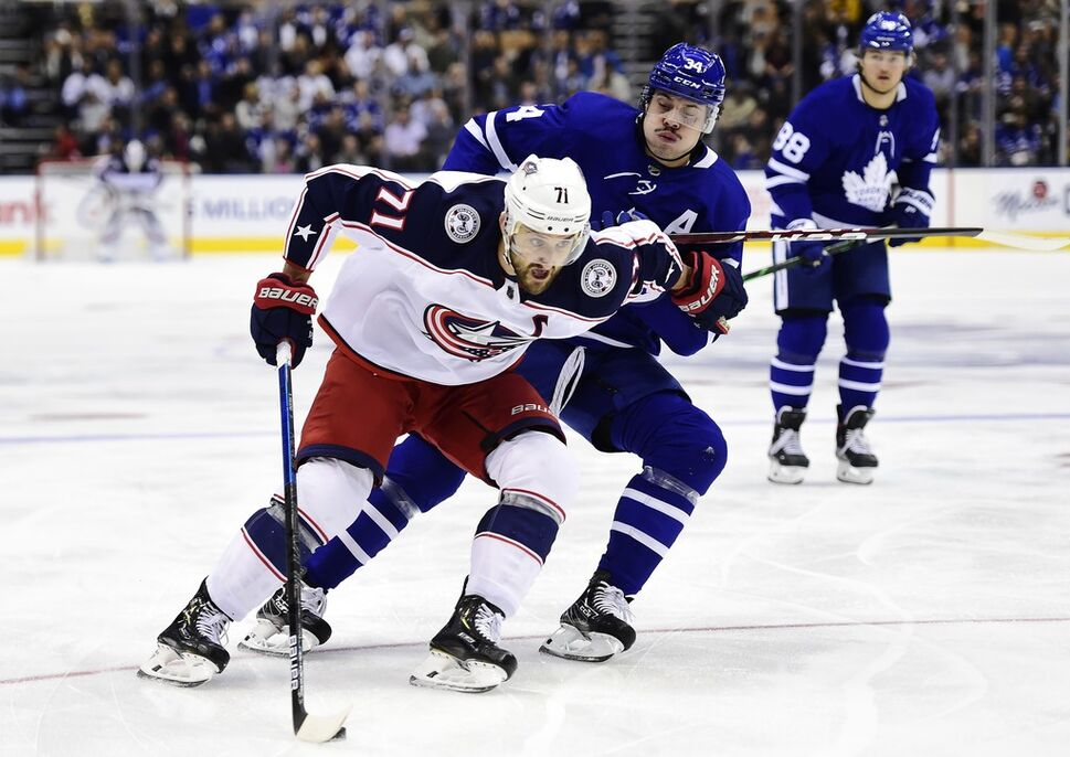 Columbus Blue Jackets and Toronto Maple Leafs could be a first-round matchup if the NHL returns to Stanley Cup playoff action this year.