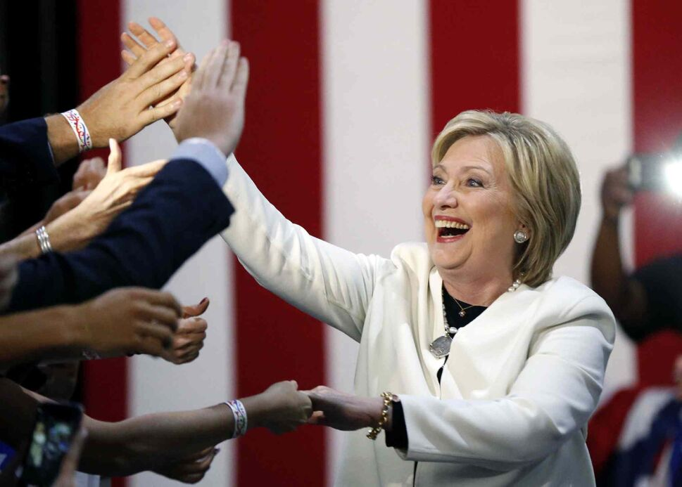 Democratic presidential candidate Hillary Clinton (Gerald Herbert / The Associated Press)