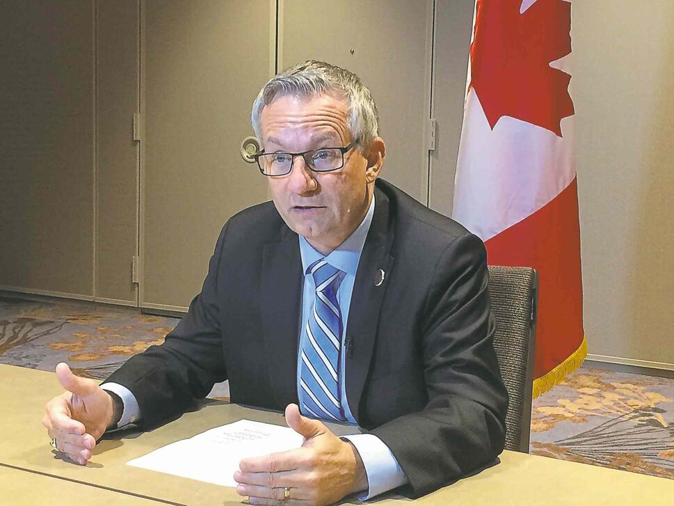 Canadian International Trade Minister Ed Fast is among the representatives from 12 countries working on the Trans-Pacific Partnership in Atlanta. (CP)