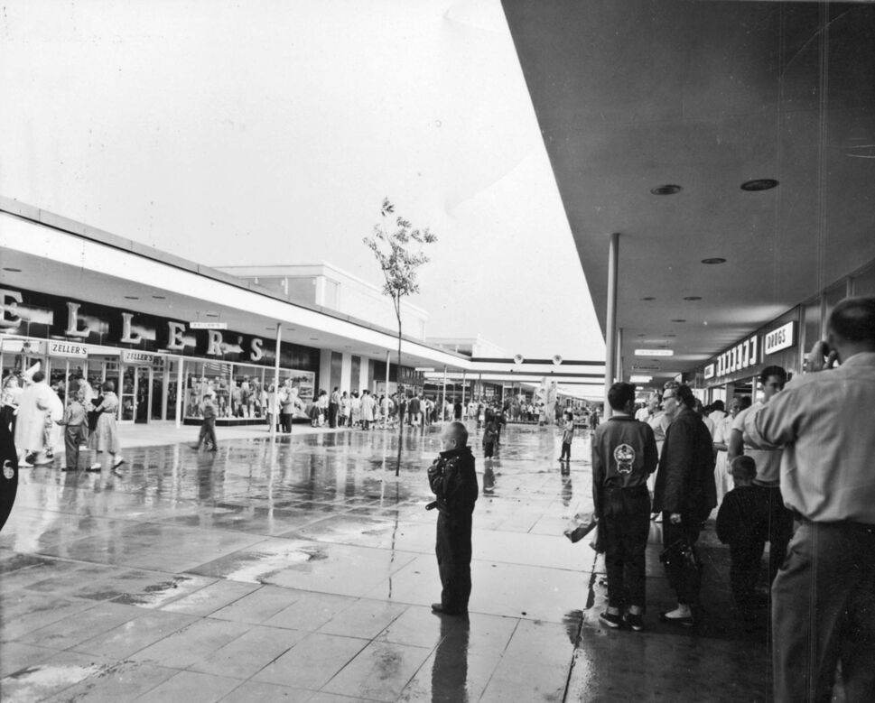HENRY KALEN</p><p>The open-air Polo Park (in 1959) was a rethink of the suburban shopping experience.</p>