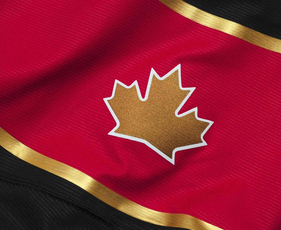 """These jerseys are distinctly Canadian and will ignite our nation's pride each time Canada's athletes take to the ice to represent their country and the Canadian Olympic and Paralympic teams."" - Bob Nicholson, Hockey Canada president. (Nike Inc.)"