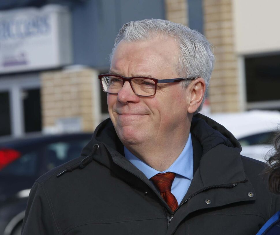 NDP leader Greg Selinger will make a trades announcement at the Operating Engineers Training Institute of Manitoba at 10 a.m.   (WAYNE GLOWACKI / FREE PRESS FILES)