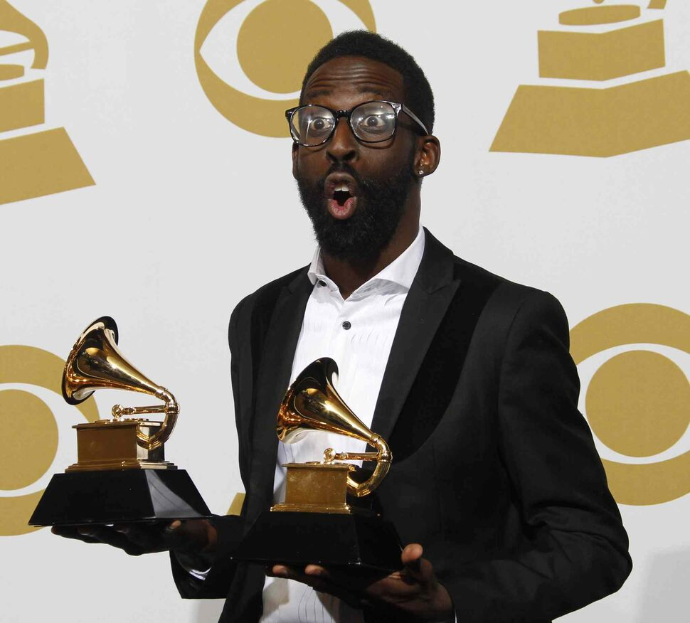 Tye Tribbett won two awards for,  If He Did It Before... Same God (Live) — Best Gospel and Greater Than (Live) — Best Gospel Album. (Allen J. Schaben / Los Angeles Times / MCT)