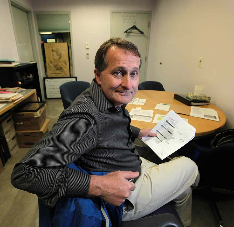Winnipeg Harvest's David Northcott (Phil Hossack / Winnipeg Free Press Files)