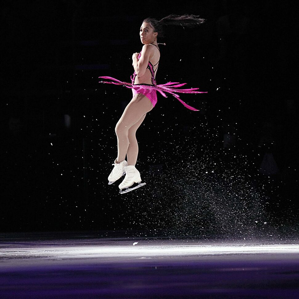 PHIL HOSSACK / WINNIPEG FREE PRESS</p><p>Gabrielle Daleman, a World Bronze Medalist in the opening act of Stars on Ice Wednesday evening.</p>
