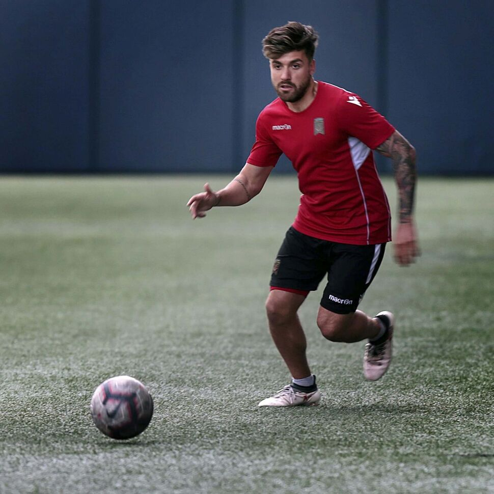 Michael Petrasso and his FC Valour teammates will host the Forge FC on Thursday.
