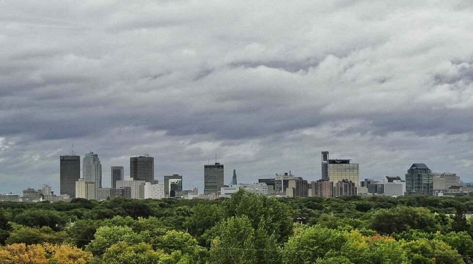 Winnipeg is truly a green city.