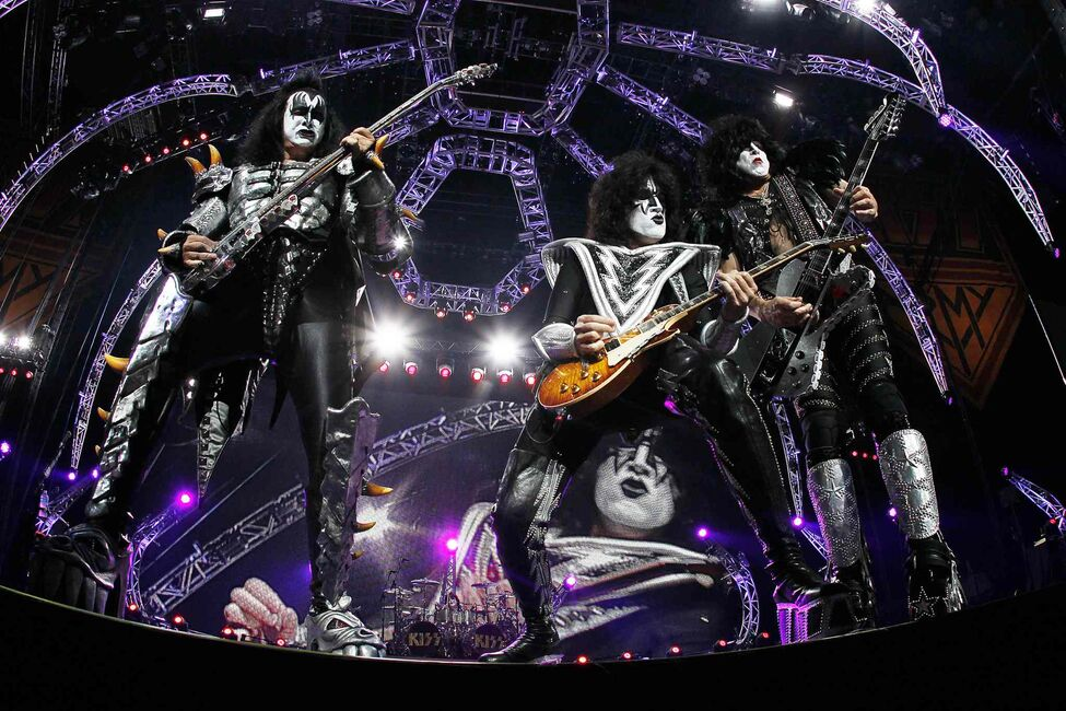 KISS performs at the MTS Centre Thursday, July 18, 2013.  (John Woods / Winnipeg Free Press)