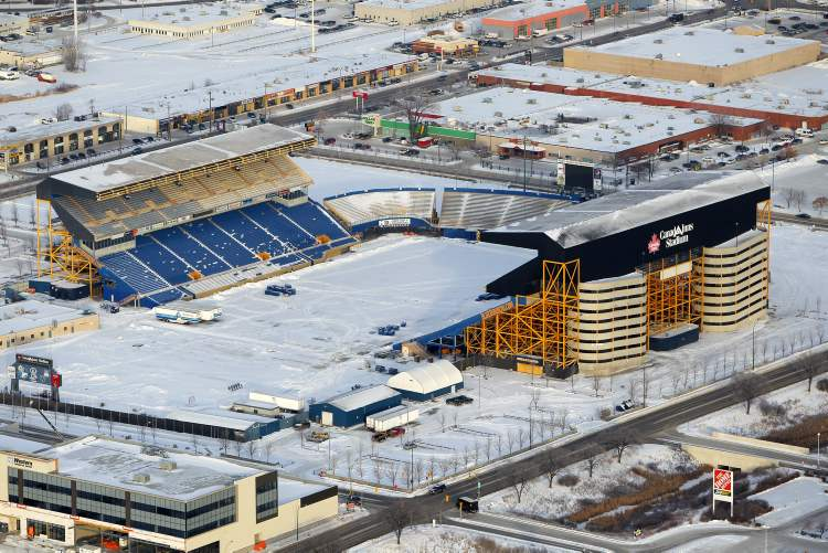 Playing an unexpected extra season at Canad Inns Stadium forced the Winnipeg Blue Bombers to spend money on operations at two facilities while only making money on one.