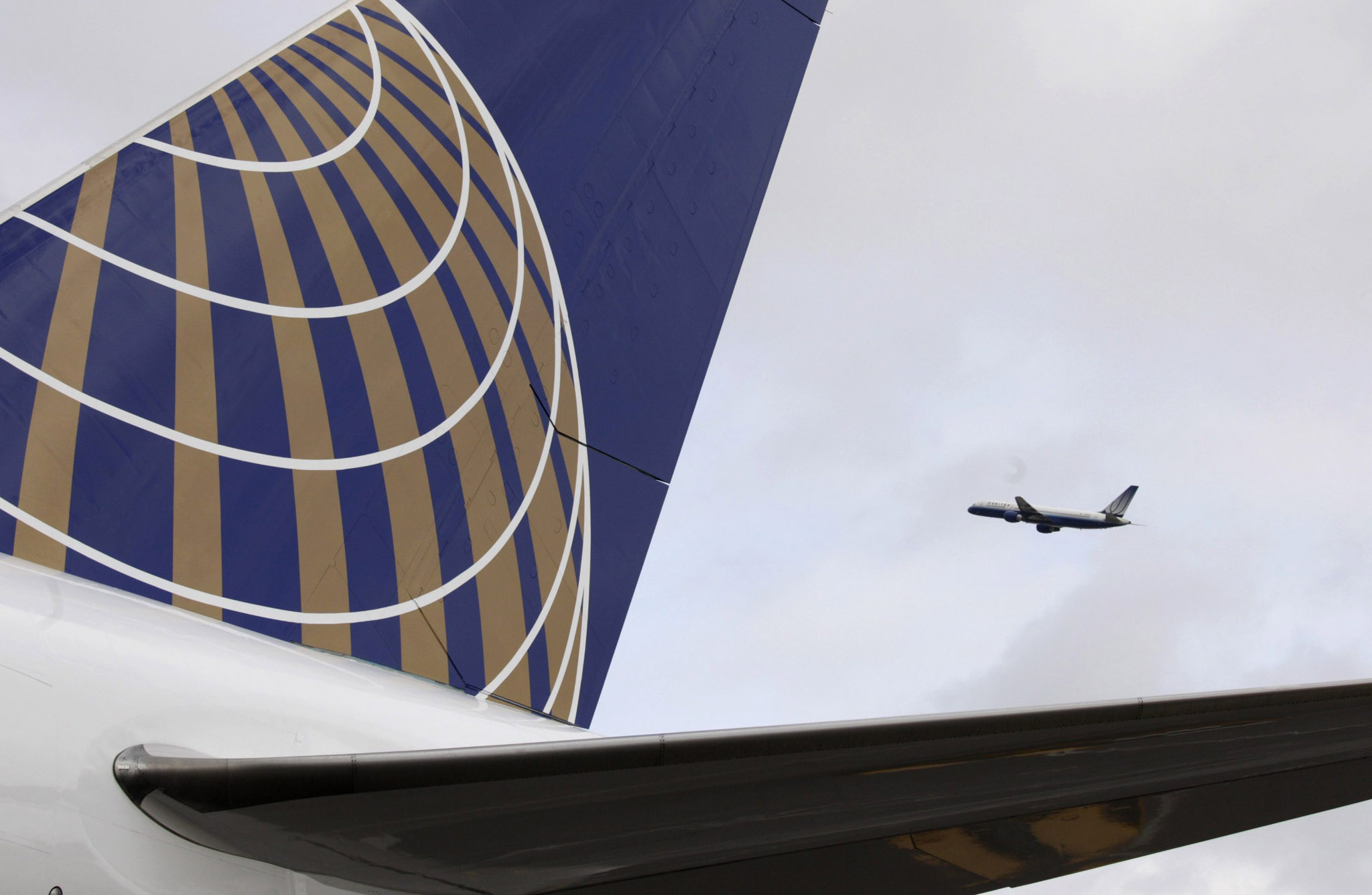 United Airlines flights, operating as United Express under a mainline partnership between United Airlines and ExpressJet, have been cancelled at the airport.