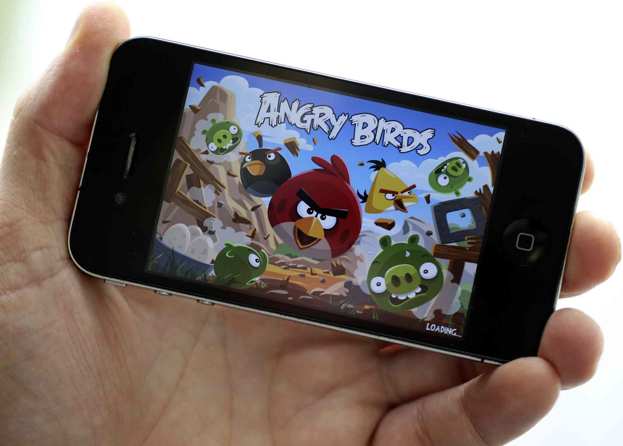 Angry Birds game apps have seen more than 1.7 billion downloads, and leaked documents say such apps can track movements and other personal information.