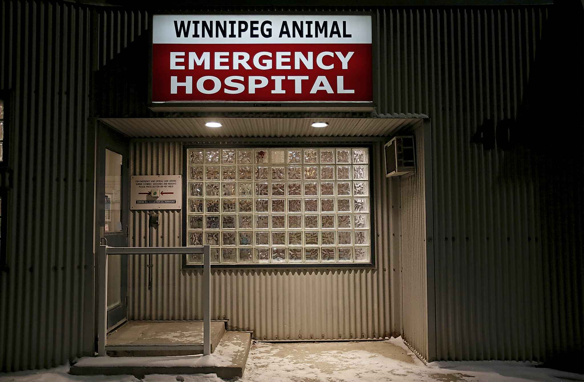 The animal hospital is open 24-hours a day, 365 days a year.