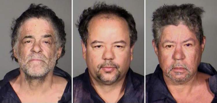 This undated combination photo released by the Cleveland Police Department shows (from left) Onil Castro, Ariel Castro, and Pedro Casto.The three brothers were arrested Tuesday, May 7, 2013, after three women who disappeared in Cleveland a decade ago were found safe Monday.  (CP)