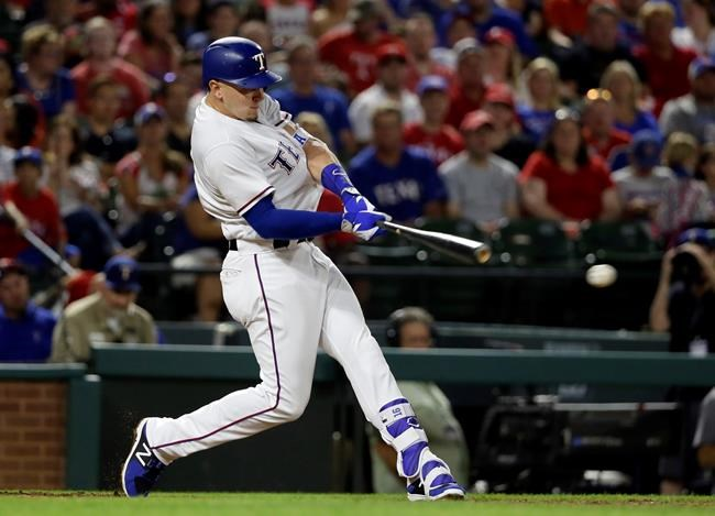 Gomez's cycle, Darvish's pitching lead Rangers to 6-3 win