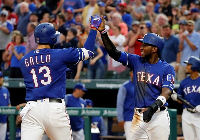 DeShields' single in 13th propels Rangers past Royals