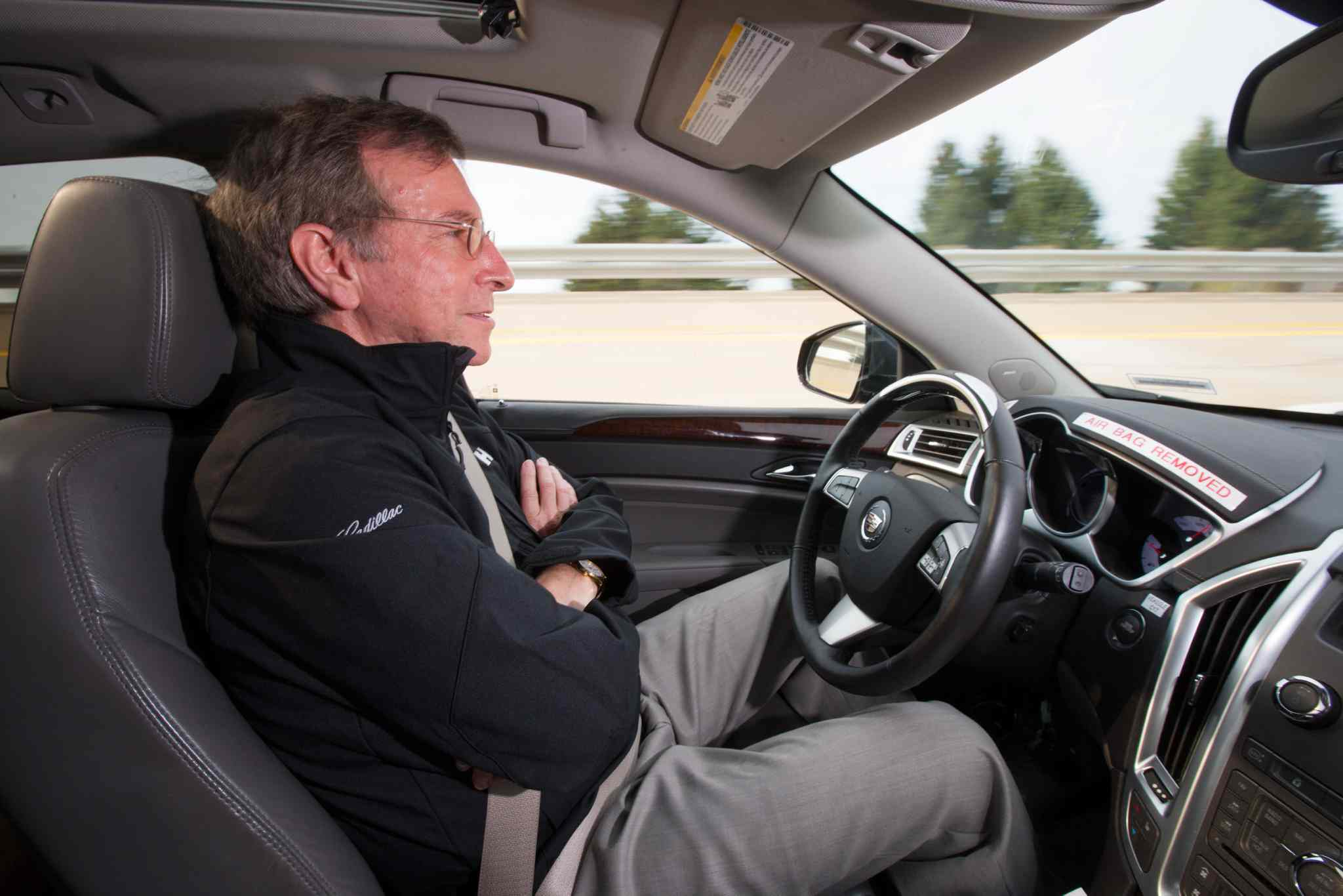It's a driverless world -- commuters can get work done from behind the wheel. Or maybe reach the next level on their Candy Crush app.