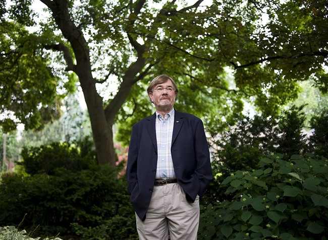 "David Foot, author of ""Boom, Bust & Echo,"" stands for a portrait at his home in Toronto on Tuesday May 29, 2012. THE CANADIAN PRESS/Aaron Vincent Elkaim"