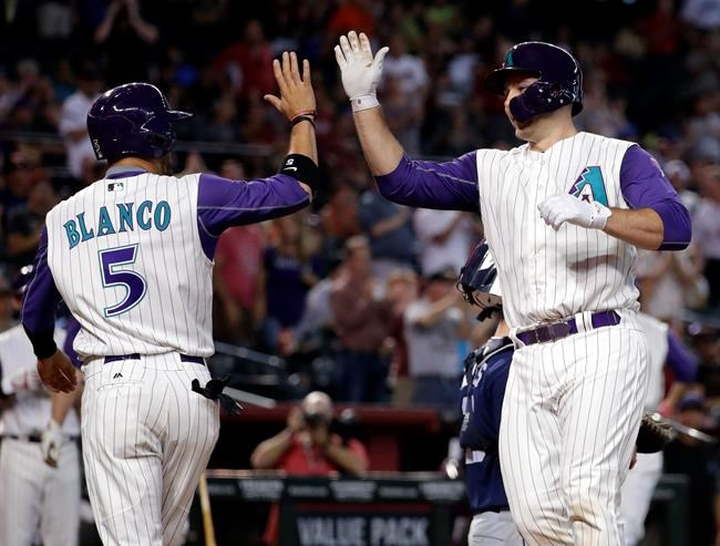 Iannetta's 7 RBIs leads D-Backs over Padres 15-3 for sweep