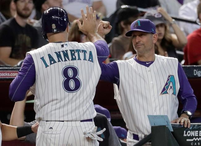 Chris Iannetta drives in seven in Diamondbacks' blowout win