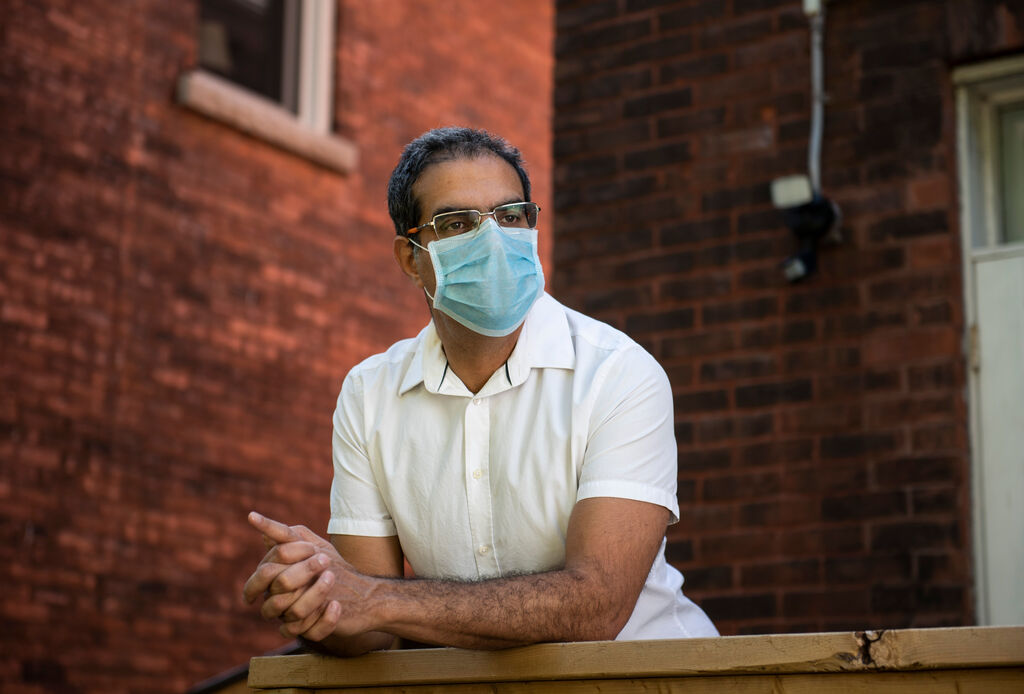 If a government fails to implement a mask mandate, it is akin to playing Russian roulette with the virus, says Amir Attaran, a professor in both the faculty of law and school of medicine at the University of Ottawa. (Justin Tang / Winnipeg Free Press files)