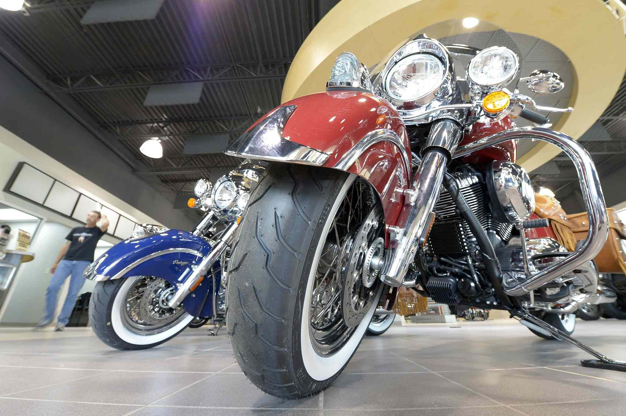 The Indian Motorcycle brand goes beyond motorcycles, with its apparel also being popular.
