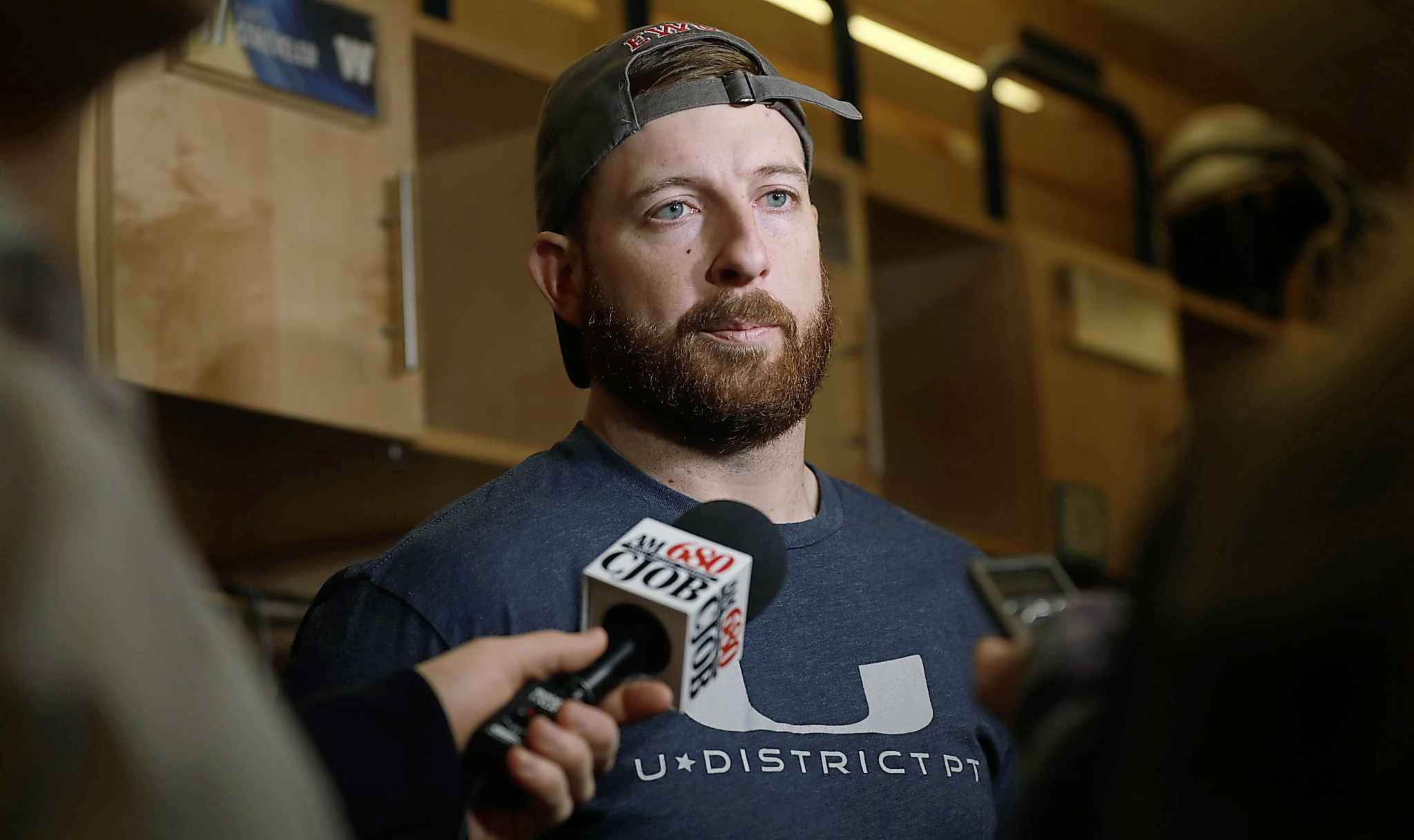 """Winnipeg Blue Bombers QB Matt Nichols: """"There were a lot of great things to take from this year."""""""