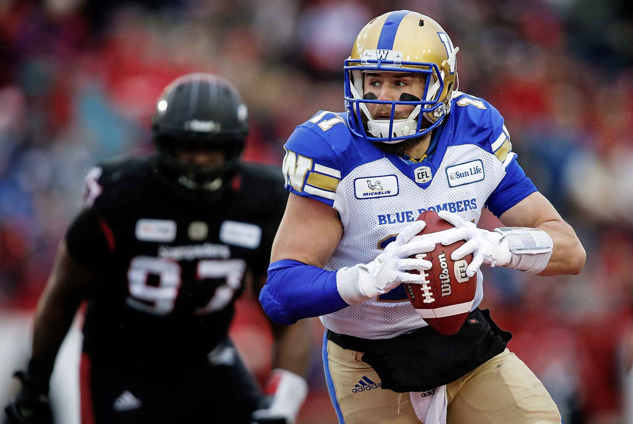 Bombers rookie quarterback Chris Streveler was a welcomed surprise.