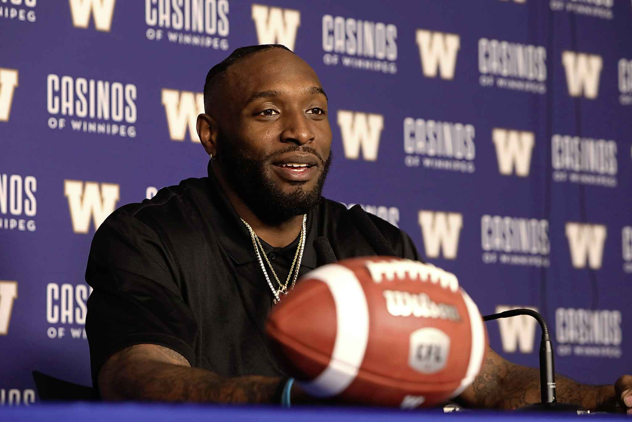 The Bombers signing of defensive lineman Willie Jefferson may ease the pain from the departure of linebacker Jovan Santos-Knox and safety Taylor Loffler.